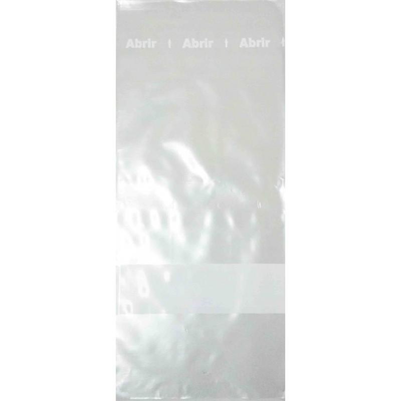 Saco Plástico PP Adesivado Transparente 100 Unidades