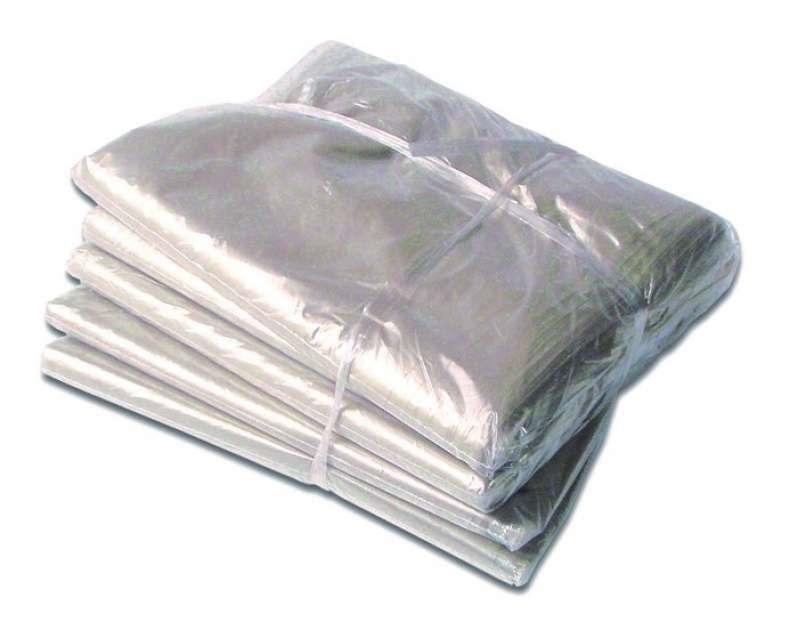 Sacola Plástica PEAD Alça Fita L:40+5 X C:40 + 5 (Aba) cm 250 Unidades