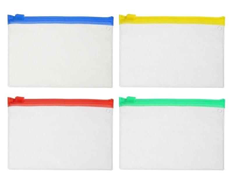 Sacola Plástica PEBD Alça Fita L:40+5 X C:40 + 5 (Aba) cm 250 Unidades