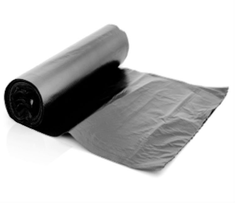 Sacola Plástica PEBD Alça Fita L:45+5 X C:45 + 5 (Aba) cm 250 Unidades